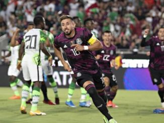 JUST-IN: Mexico thrash Nigeria's Home-based Super Eagles in USA friendly