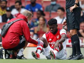 Partey requires scan on his ankle after pre-season Chelsea clash