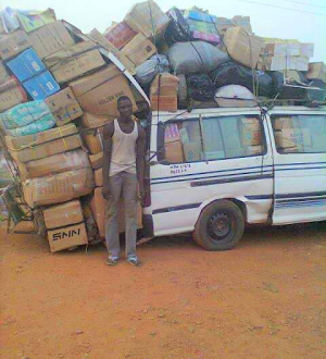 Another Overloaded Vehicle Impounds By FRSC