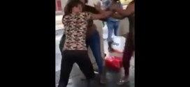 Two Nigerian Girls Fight In Europe Over BoyFriend (VIDEO)