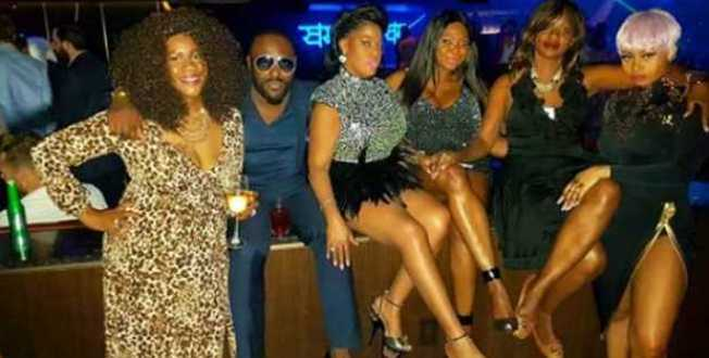 Jim Iyke Parties With His Sisters as He Turns 40