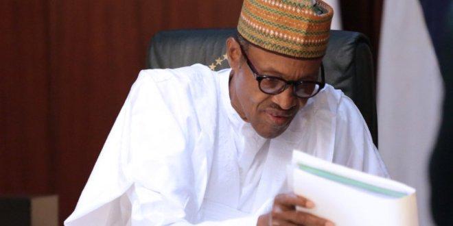 Buhari At Federal Executive Council Meeting (Photos)