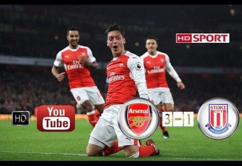 Arsenal vs Stoke City 3-1 All Goals EPL 2016