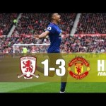 VIDEO: Manchester United Vs Middlesbrough 3-1 EPL 2017 Highlights