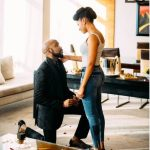 Banky W and Adesua Etomi are Engaged… Read Their Love Story