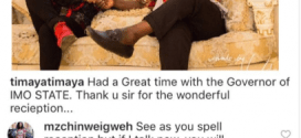 Timaya blast follower who dictated his wrong spelling
