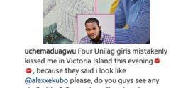 Self acclaimed 'actor' Uche Maduagwu says he's mistaken for Alex Ekubo