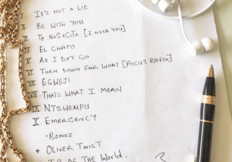 D'banj celebrates 37th birthday with new photos, unveils tracklist to new Album