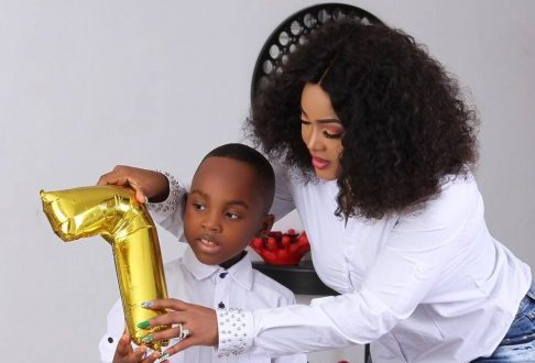 Check out lovely photos Mercy Aigbe released to mark son's birthday