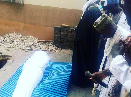 NURTW chieftain, Hamburger laid to rest (Photo)
