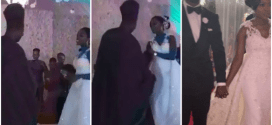 Watch Gov. Amosun and daughter Ayomide dance to Davido's 'IF' at her wedding (Photos/Video)