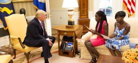 What Chibok schoolgirls told  Donald Trump during their visit to the White House