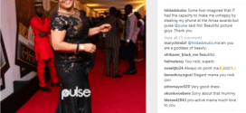'You can't make me unhappy'- Hilda Dokubo slams fan who stole her phone at AMAA