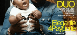 Seyi Law and daughter on cover Media Room Hub magazine (photos)