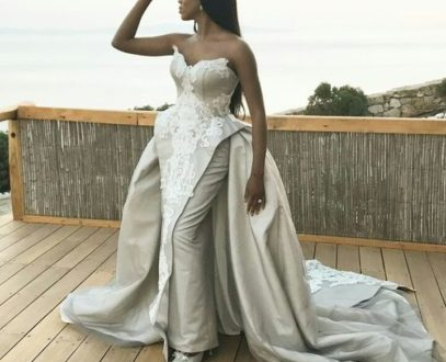 Stephanie Coker's beautiful second look at her wedding