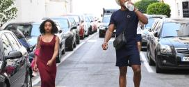 Anthony Joshua steps out with mystery woman after ending rift with Amir Khan over affair claims (Photos)
