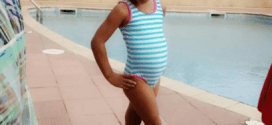 Flavour's first daughter is a poser! (Photos)