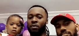 Phyno attends Flavour and Anna Banner's daughter's birthday party (Photos)