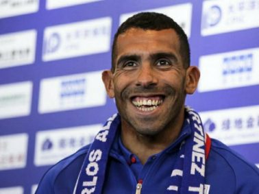 """Carlos Tevez Labeled """"Overweight"""" By New Shanghai Shenhua Manager And Won't Feature Until He Slims Down"""