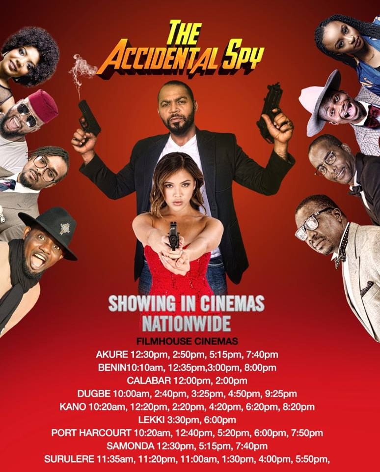 The Accidental Spy – Nollywood Movie | Mp4 DOWNLOAD