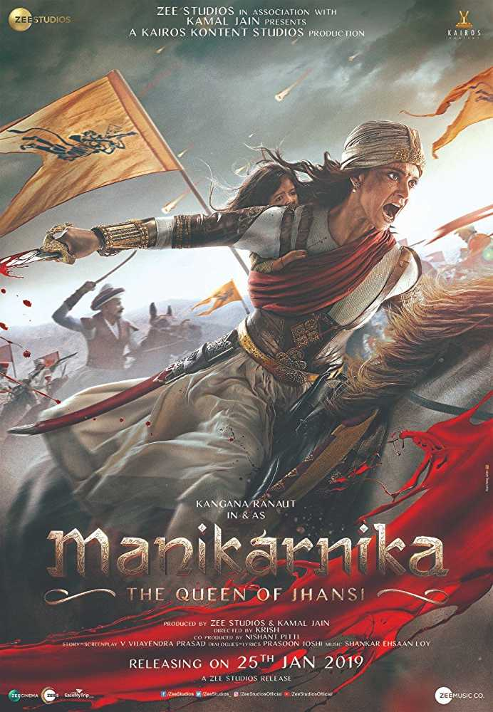 Manikarnika: The Queen of Jhansi (2019) – Bollywood Movie Movie Mp4 DOWNLOAD