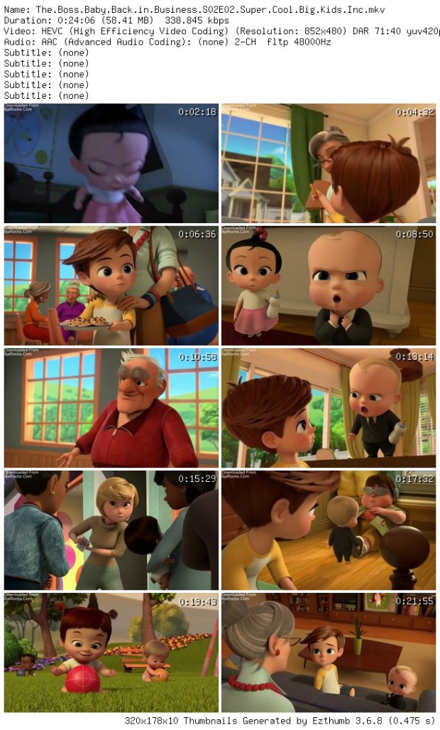 offer discounts top fashion new style COMPLETE: The Boss Baby: Back in Business Season 2 Episode 1 ...