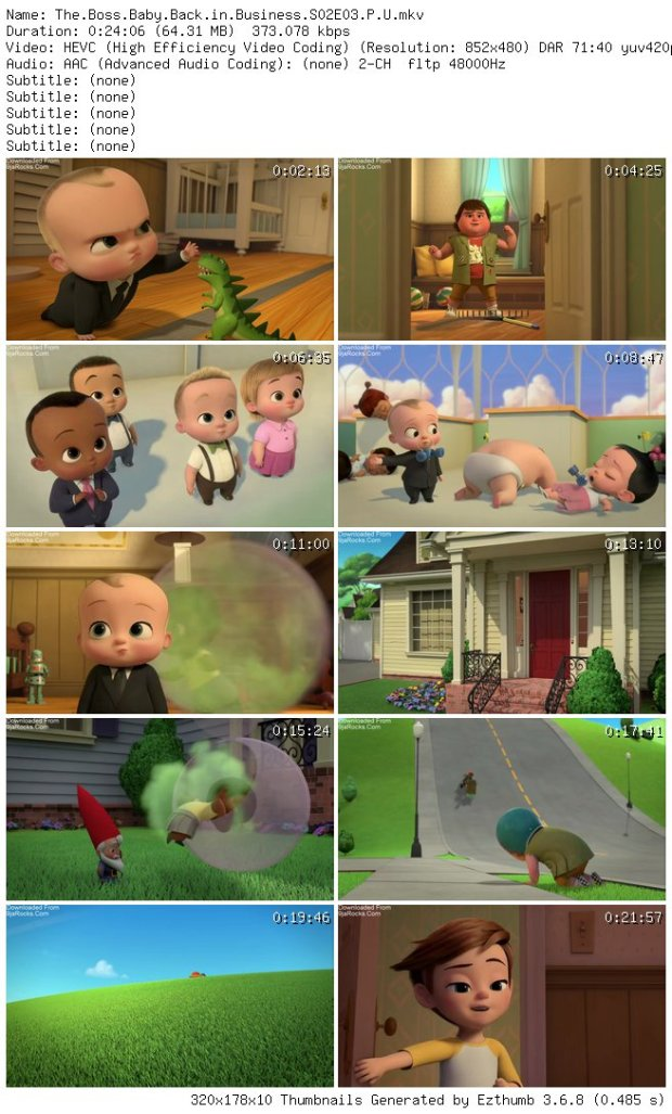COMPLETE: The Boss Baby: Back in Business Season 2 Episode 1