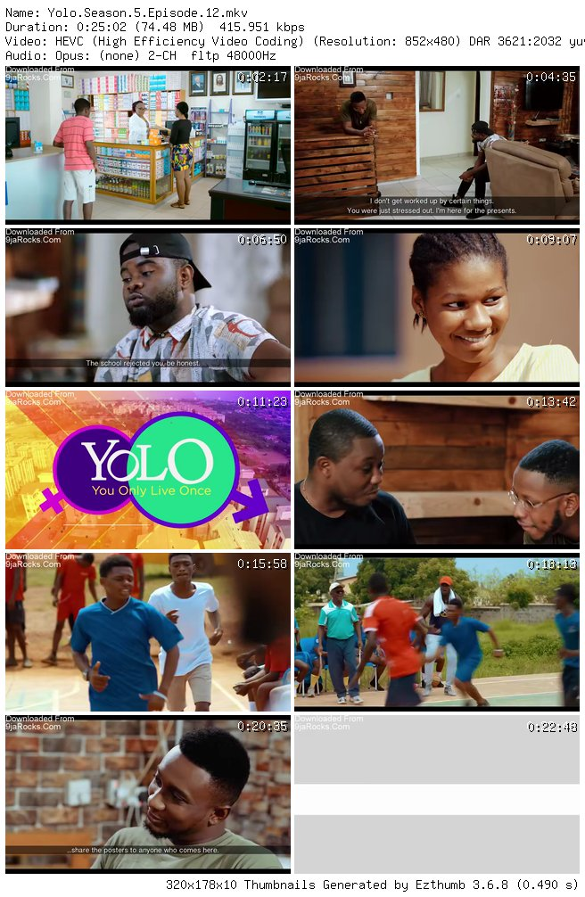 Yolo (You Only Live Once) Season 5 Episode 12