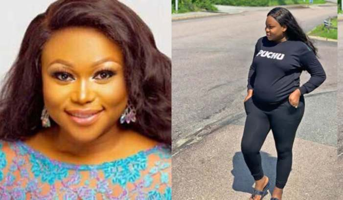Ruth Kadiri shows off the face of her adorable daughter (Photo) 1