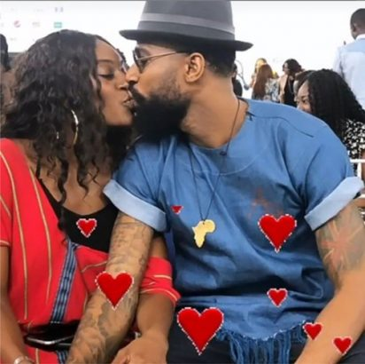 #BBNaija: Mike and wife, Perri thrill fans with long passionate kiss at prize giving day (photos) 3