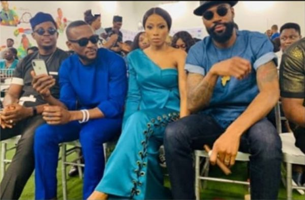 #BBNaija: Mike and wife, Perri thrill fans with long passionate kiss at prize giving day (photos) 9