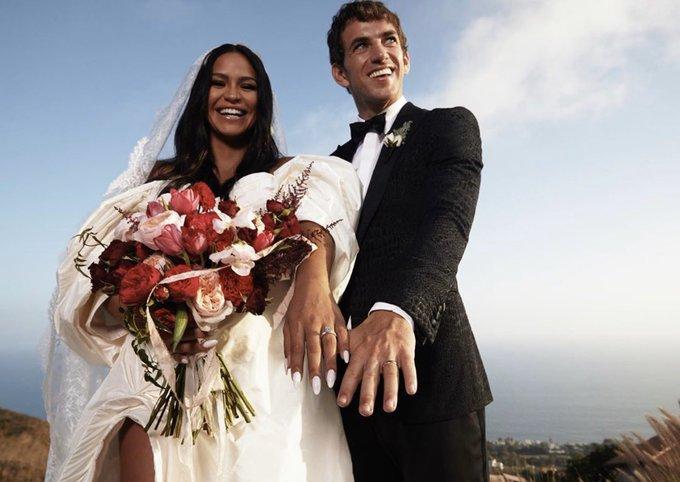 Cassie Ventura and Alex Fine black-tie backyard wedding in Malibu (Photos) 27