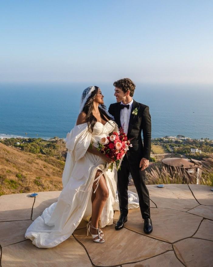 Cassie Ventura and Alex Fine black-tie backyard wedding in Malibu (Photos) 9