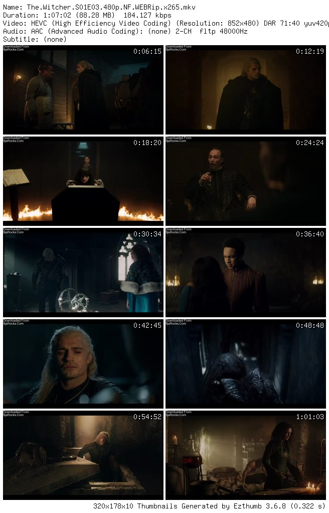 COMPLETE: The Witcher Season 1 Episode 1 - 8
