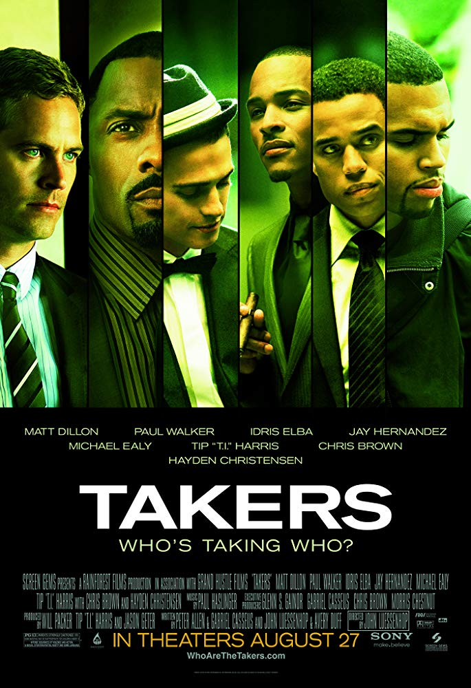 Movie: Takers (2010) | Mp4 DOWNLOAD