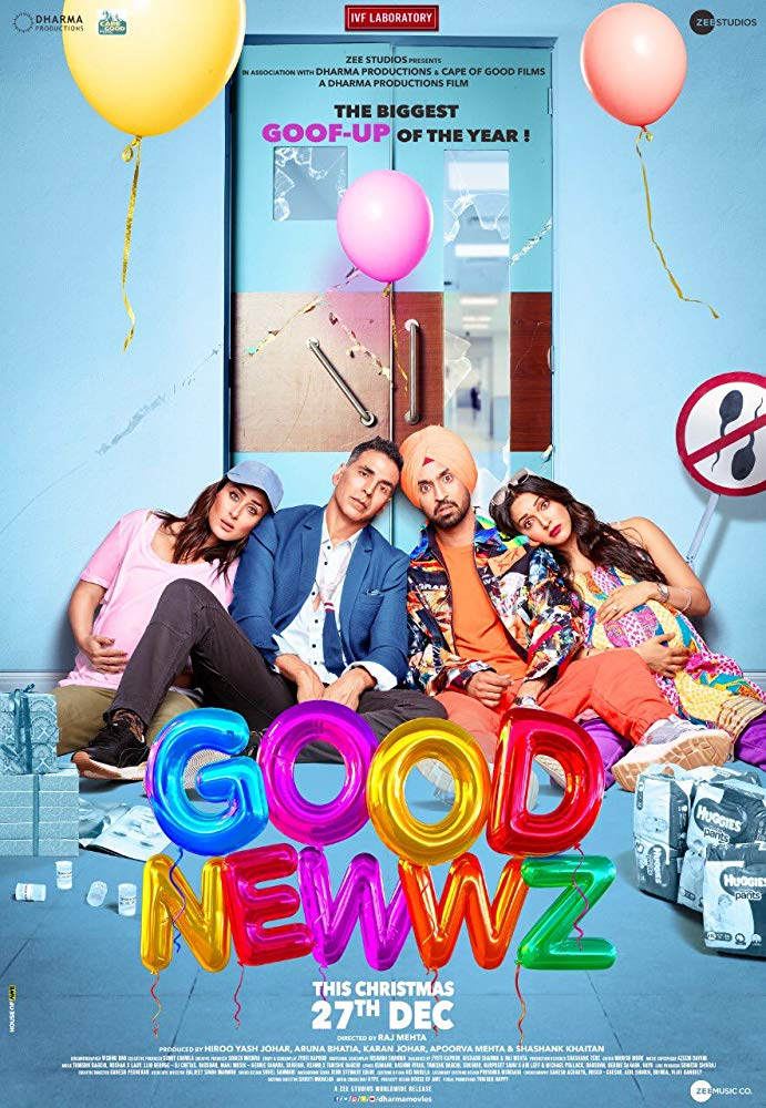 Good Newwz (2019) - Bollywood Movie