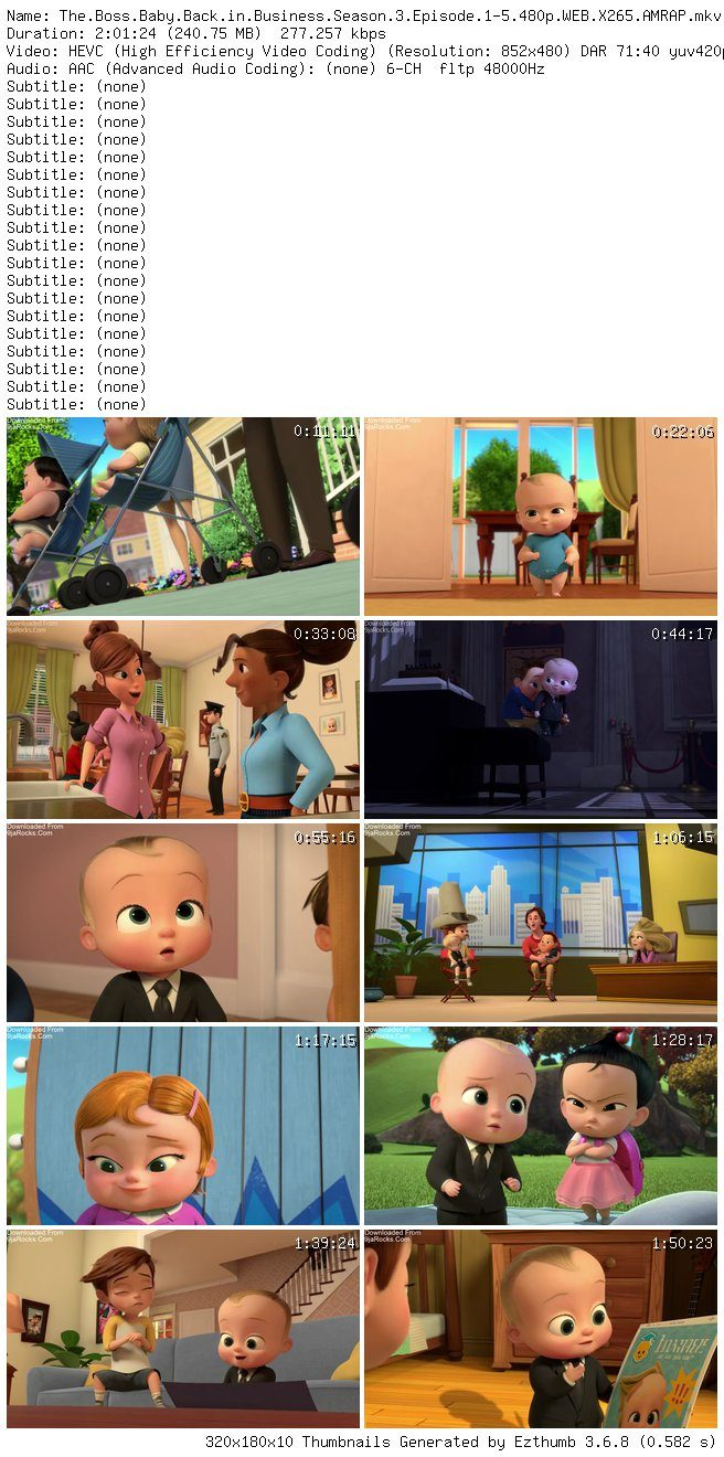 Complete The Boss Baby Back In Business Season 1 Episode 1 11 9jamemez Ent Media
