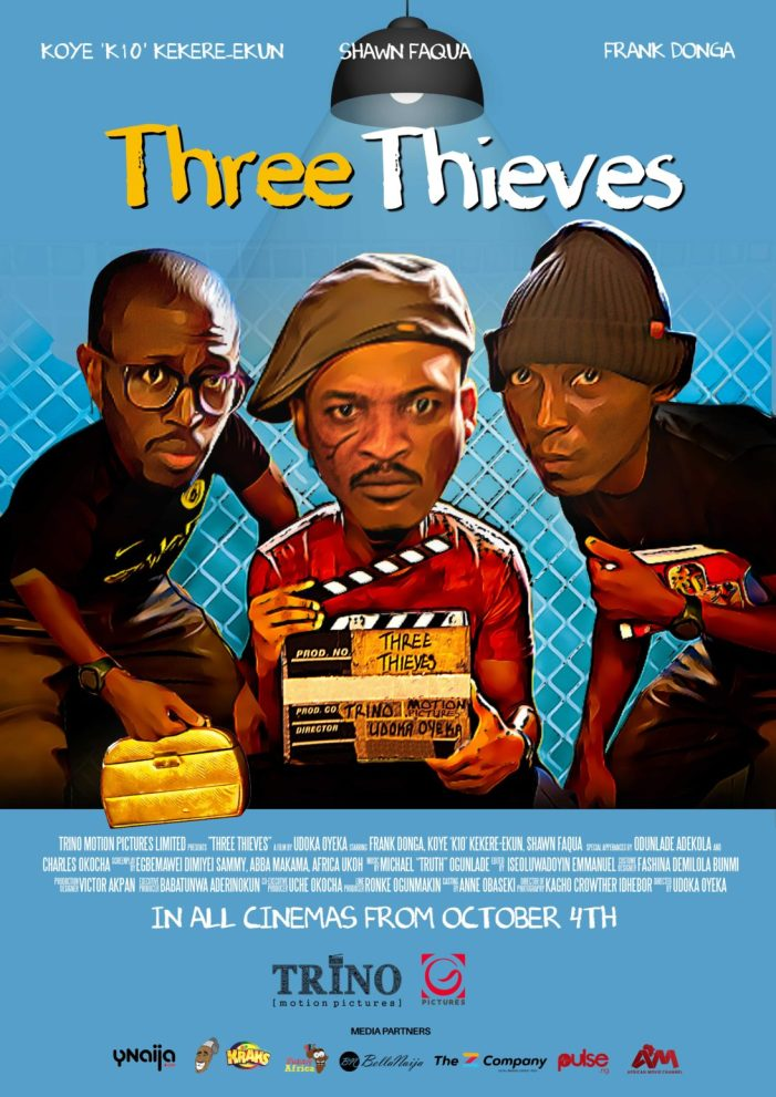 🔥Three Thieves - Nollywood Movie
