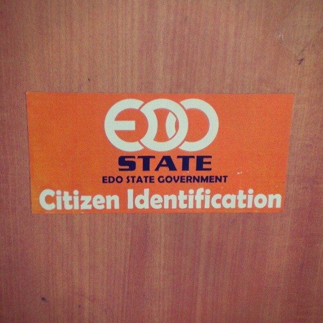 Edo state has this cool logo