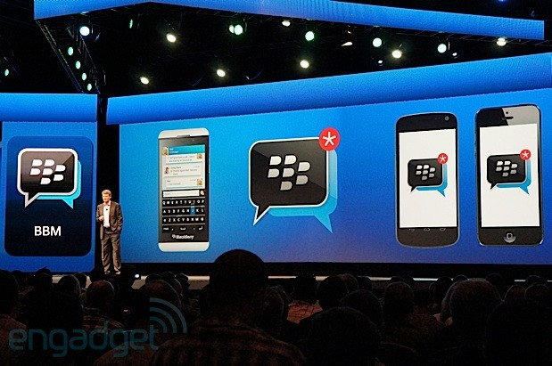 PSA : BBM for iOS rollout underway, Android version acting a little shy