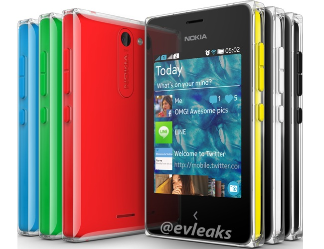 Nokia Asha 502 Press Render Leaked