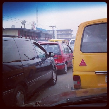 The joy of Lagos traffic