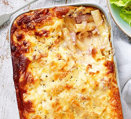 How to make Souffled Macaroni Cheese