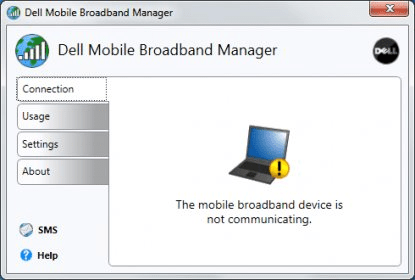 dell broadband manager