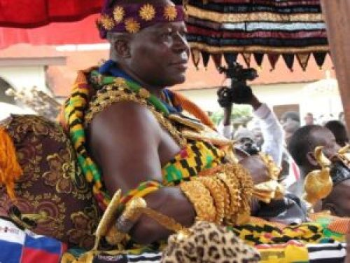 Otumfuo Osei Tutu - The richest king in Africa