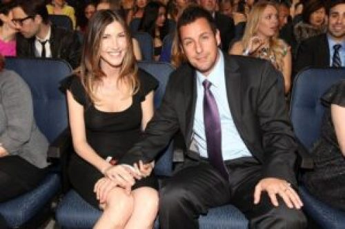 Adam Sandler and Wife