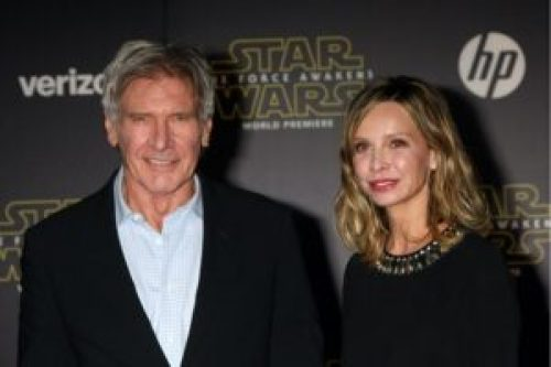Harrison Ford and Calista Flockhart|Kathy Hutchins