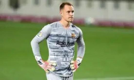 Ter Stegen - 3rd best goalkeeper in the world