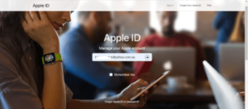 How To Recover Your Apple ID Account Password - iPhone