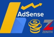 Adsense Earnings Into Zenith Bank Savings Account (My Experience)